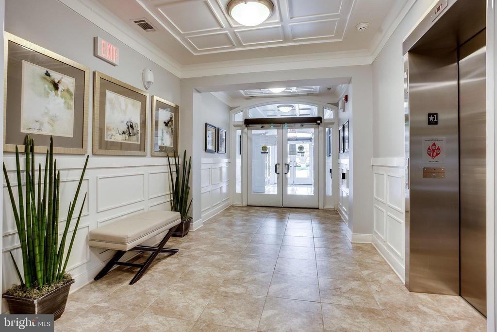 Lovely Lobby with Secure Entry - 20505 LITTLE CREEK TER #203, ASHBURN