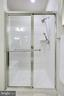 Master Bath Shower with Seat - 20505 LITTLE CREEK TER #203, ASHBURN
