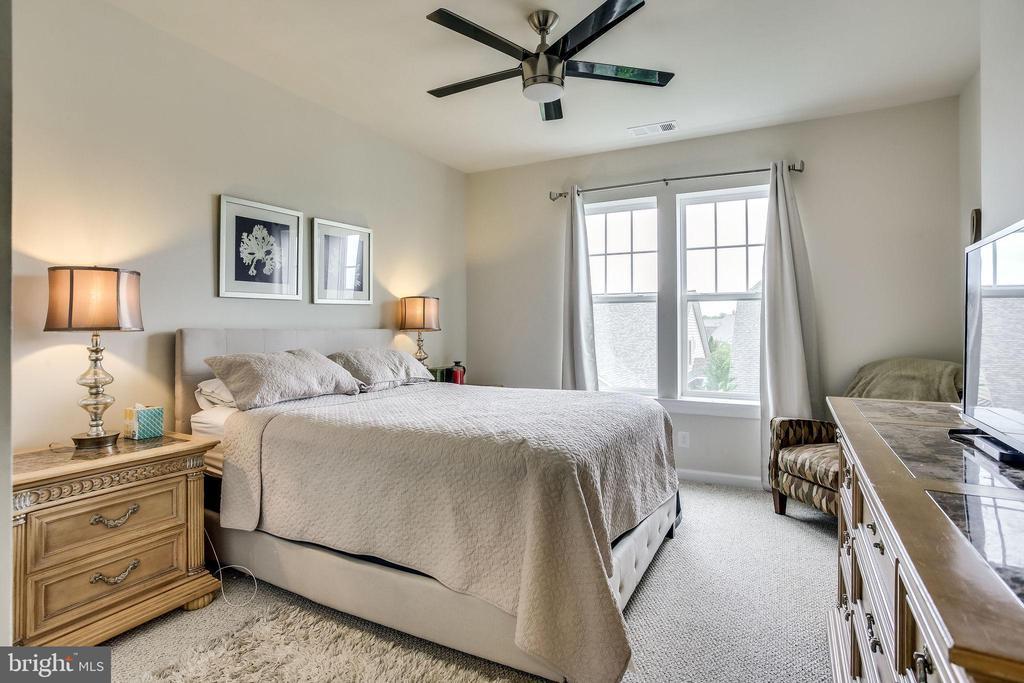 Upgraded Ceiling Fan in Second Bedroom - 20505 LITTLE CREEK TER #203, ASHBURN