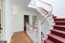 Central Stairway - 1721 WILLARD ST NW, WASHINGTON