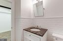 Lower Level Full Bathroom - 1721 WILLARD ST NW, WASHINGTON