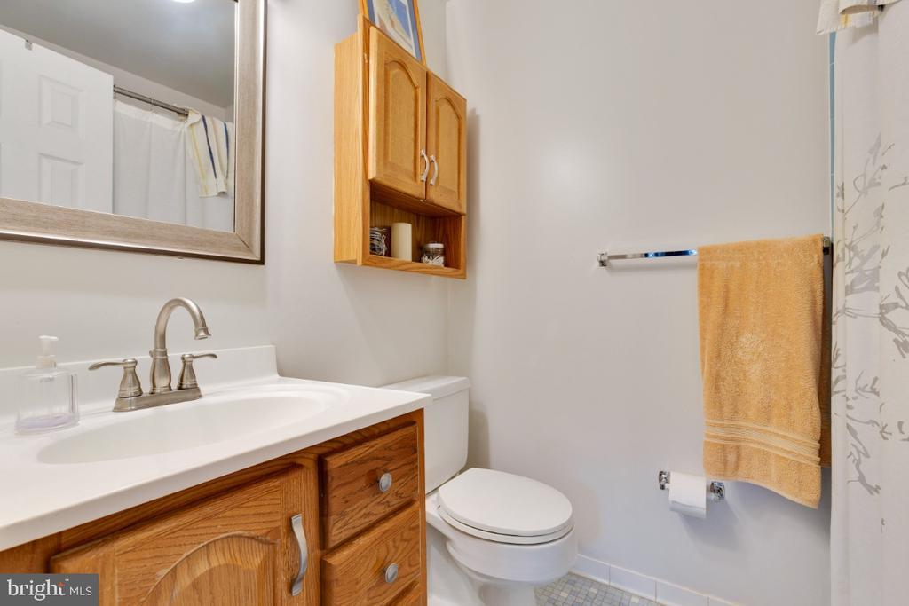 Master bath - 5307 CARTHAGE LN, BURKE