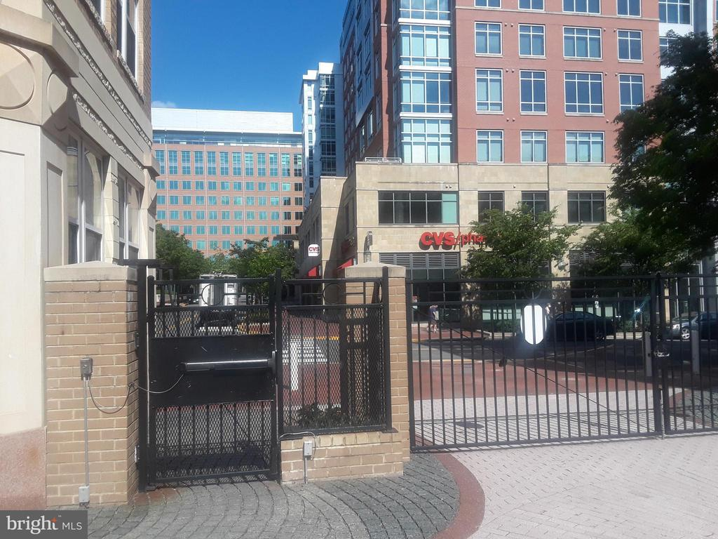 Secure Gate  closest to unit goes into Town Center - 12001 MARKET ST #177, RESTON