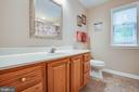 Upstairs full hall bath - 8205 HOWARD TRL, FREDERICKSBURG