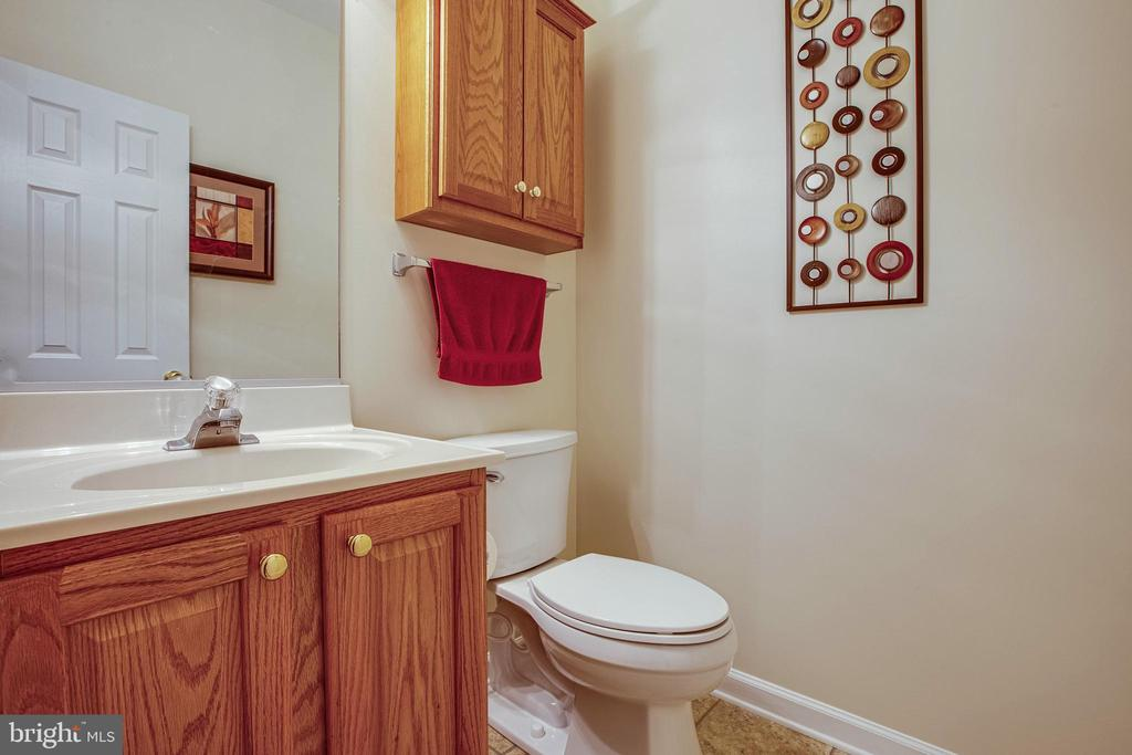 main floor half bath - 8205 HOWARD TRL, FREDERICKSBURG