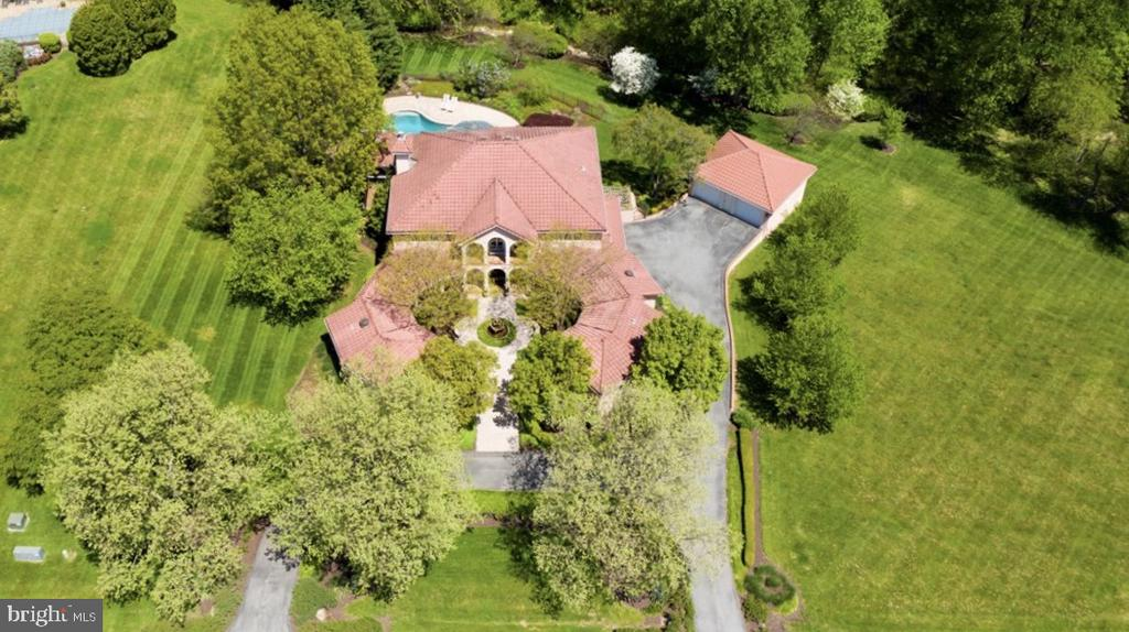 Lovely layout of home and surrounding landscape. - 6072 WHITE FLINT DR, FREDERICK