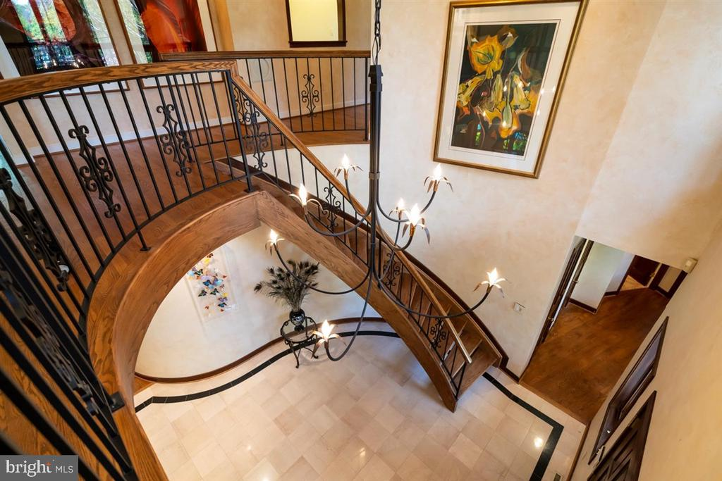 One of two stair ways to 2nd floor. - 6072 WHITE FLINT DR, FREDERICK