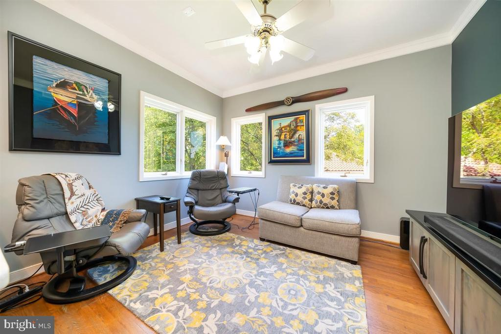 Just off kitchen - keep kids close by or relax - 6072 WHITE FLINT DR, FREDERICK