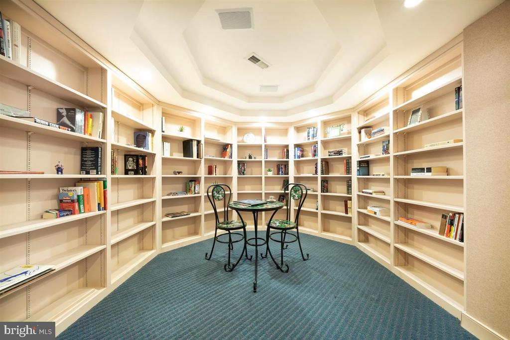 Charming, whimsical library in the round. - 6072 WHITE FLINT DR, FREDERICK