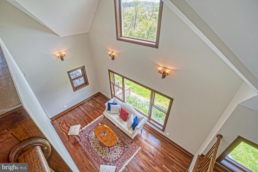 2-Story Living Room from above - 40985 REDWING SONG LN, LOVETTSVILLE