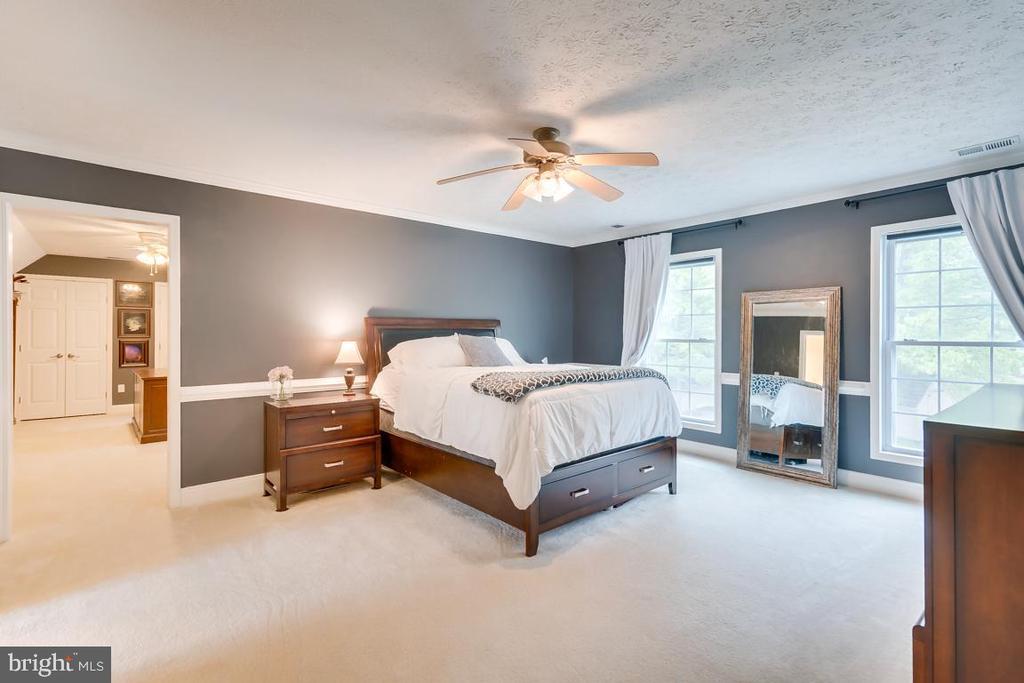 Large Master Bedroom. - 1065 MOUNTAIN VIEW RD, FREDERICKSBURG