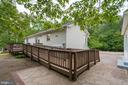 Ramp to back deck for easy access. - 1065 MOUNTAIN VIEW RD, FREDERICKSBURG