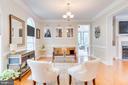 Living Room with hardwood floors. - 1065 MOUNTAIN VIEW RD, FREDERICKSBURG