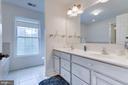 Master Bath with double vanity. - 1065 MOUNTAIN VIEW RD, FREDERICKSBURG