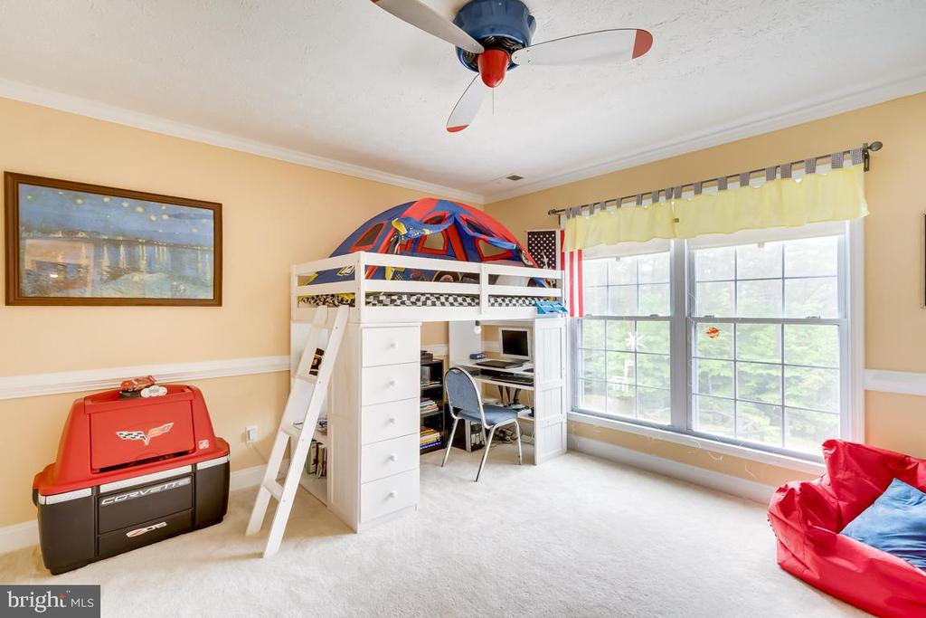 3rd Bedroom on the back. - 1065 MOUNTAIN VIEW RD, FREDERICKSBURG