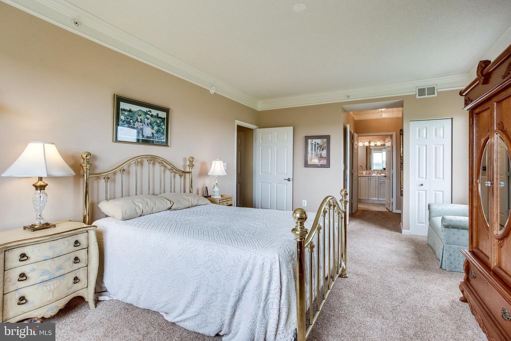 Master bedroom - 19355 CYPRESS RIDGE TER #1118, LEESBURG