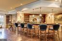 Spacious club room on the main lobby level - 2665 PROSPERITY AVE #1, FAIRFAX