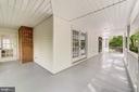 Access to the front door and the office door - 5696 GAINES ST, BURKE