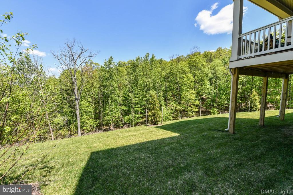 Privacy at back of home. - 9687 AMELIA CT, NEW MARKET