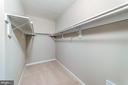 Master walk-in closet - 5696 GAINES ST, BURKE