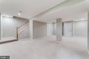 lower level is finished for multi gen living - 5696 GAINES ST, BURKE
