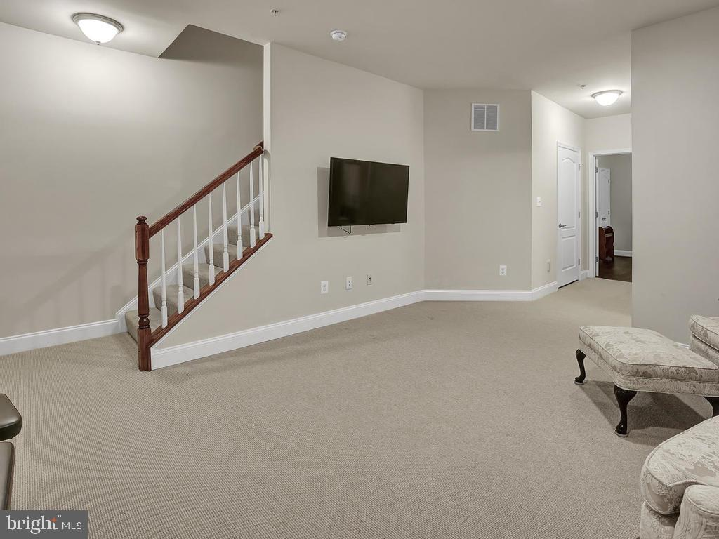 Finished Lower Level Family Room - 27 LORD NICKENS ST, FREDERICK