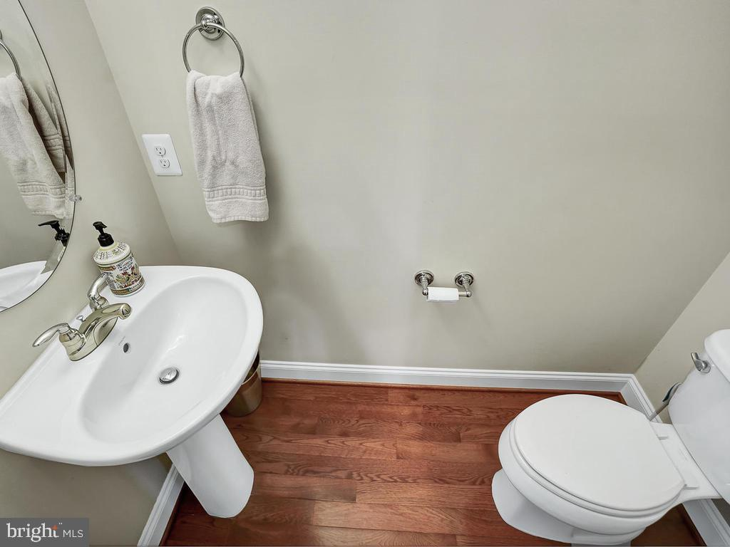Main Level Half Bathroom - 27 LORD NICKENS ST, FREDERICK