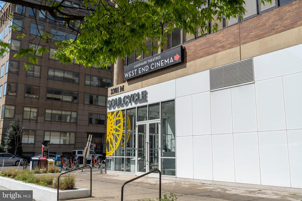 Walk or cycle to SoulCycle - 2301 N ST NW #517, WASHINGTON