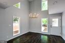 Breakfast Room with Gorgeous Chandelier - 5125 37TH ST N, ARLINGTON