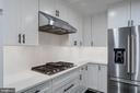 Beautiful Backsplash and Cooktop - 5125 37TH ST N, ARLINGTON