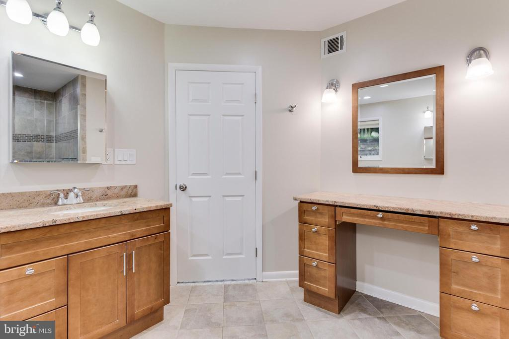 Vanity with Sink and Make Up Vanity - 5125 37TH ST N, ARLINGTON