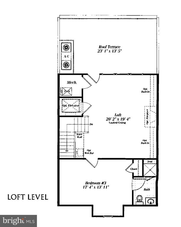 Loft Level - 10846 SYMPHONY PARK DR, NORTH BETHESDA