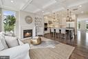 Family Room/Kitchen - 10846 SYMPHONY PARK DR, NORTH BETHESDA
