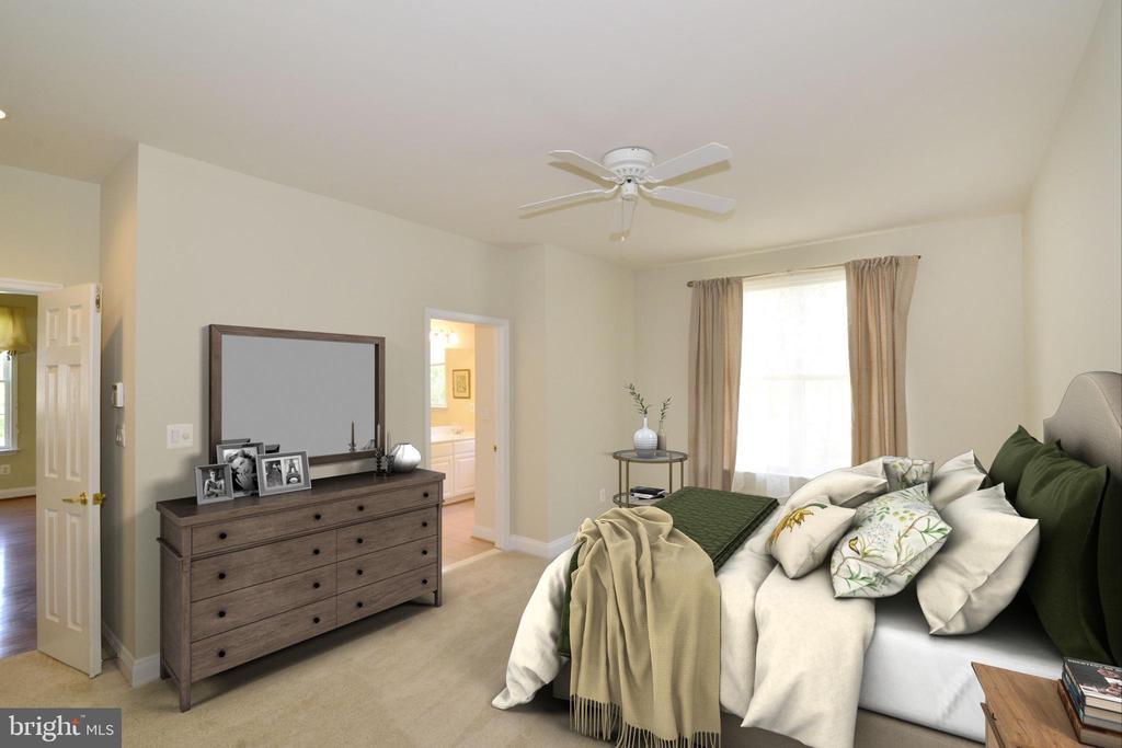 Master bedroom - 6507 BOX ELDER LOOP, GAINESVILLE