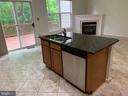 Great kitchen overlooks family room area. - 6587 KIERNAN CT, ALEXANDRIA