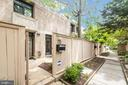 Front entrance/front patio - 363 N ST SW #363, WASHINGTON