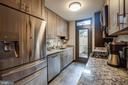 Updated kitchen with quartz counters - 363 N ST SW #363, WASHINGTON