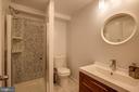 New full bath in lower level - 363 N ST SW #363, WASHINGTON