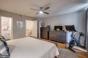 Master Bedroom with attached bath - 363 N ST SW #363, WASHINGTON
