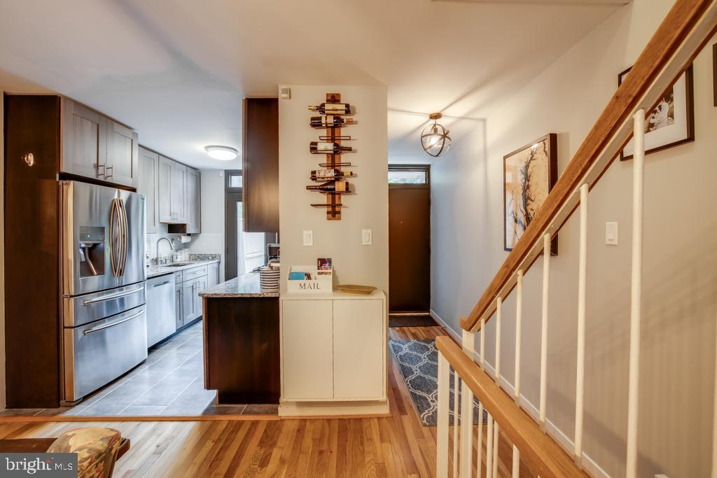 Kitchen with access to front patio - 363 N ST SW #363, WASHINGTON