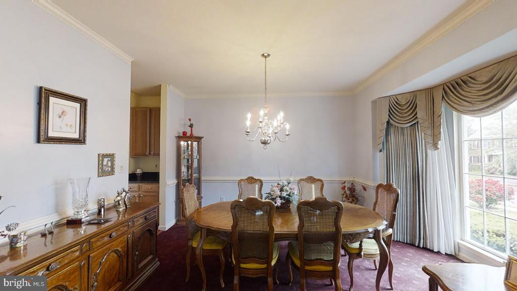 Dinning Room - 6150 DEER RIDGE TRL, SPRINGFIELD