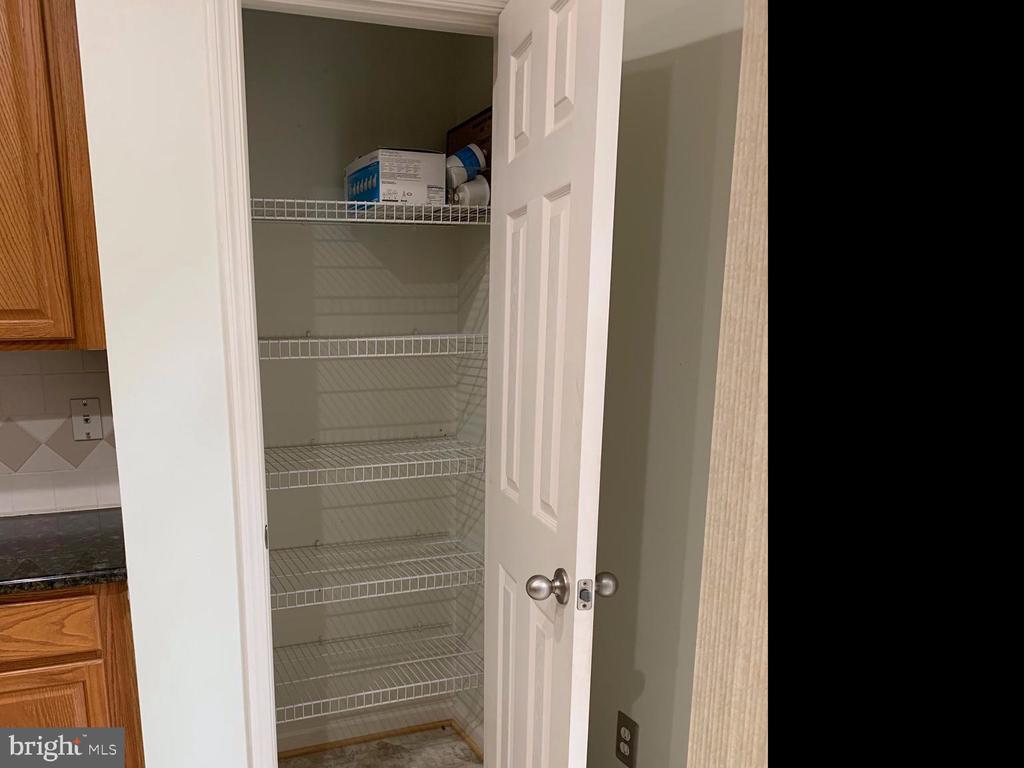 Nice size pantry... - 6587 KIERNAN CT, ALEXANDRIA