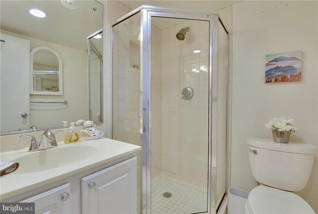 Master bathroom - 501 SLATERS LN #703, ALEXANDRIA