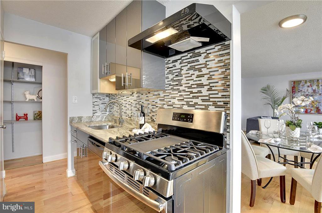 Look at this kitchen!! - 501 SLATERS LN #703, ALEXANDRIA