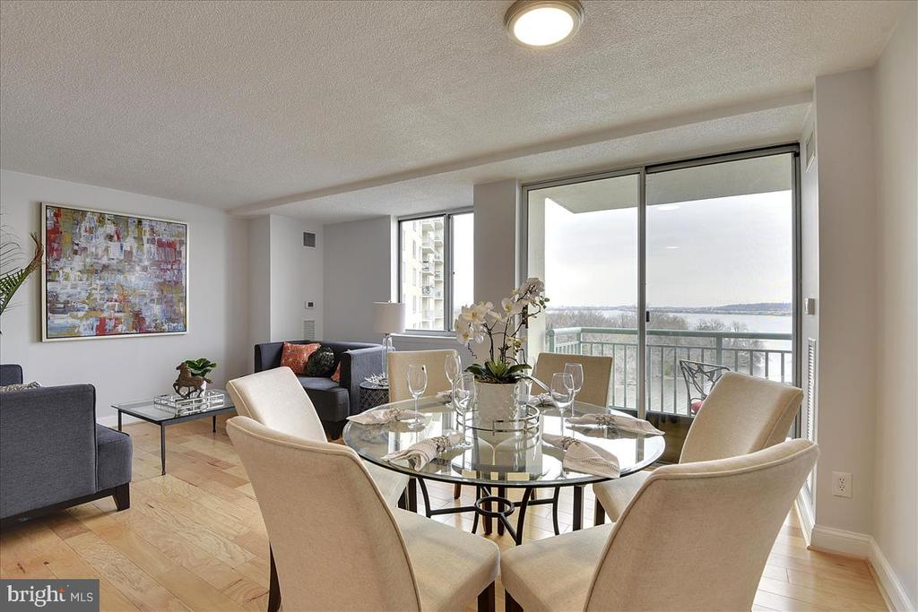 Entertainers delight! Gorgeous night views. - 501 SLATERS LN #703, ALEXANDRIA