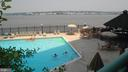 River front swimming pool and grill area - 501 SLATERS LN #703, ALEXANDRIA