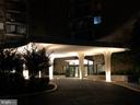 Very stunning night time entry at front - 501 SLATERS LN #703, ALEXANDRIA