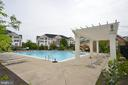 Outdoor pool - 20981 ROCKY KNOLL SQUARE #107, ASHBURN