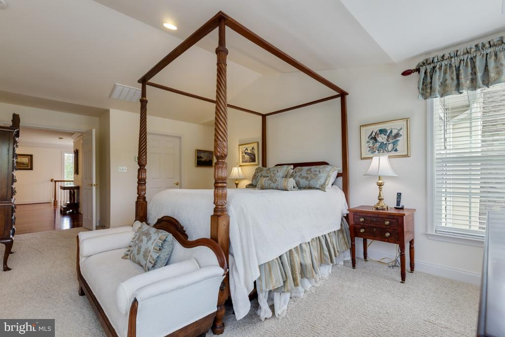 Wonderful Master Suite  with Cathedral Ceilings - 19912 MIZNER TER, ASHBURN