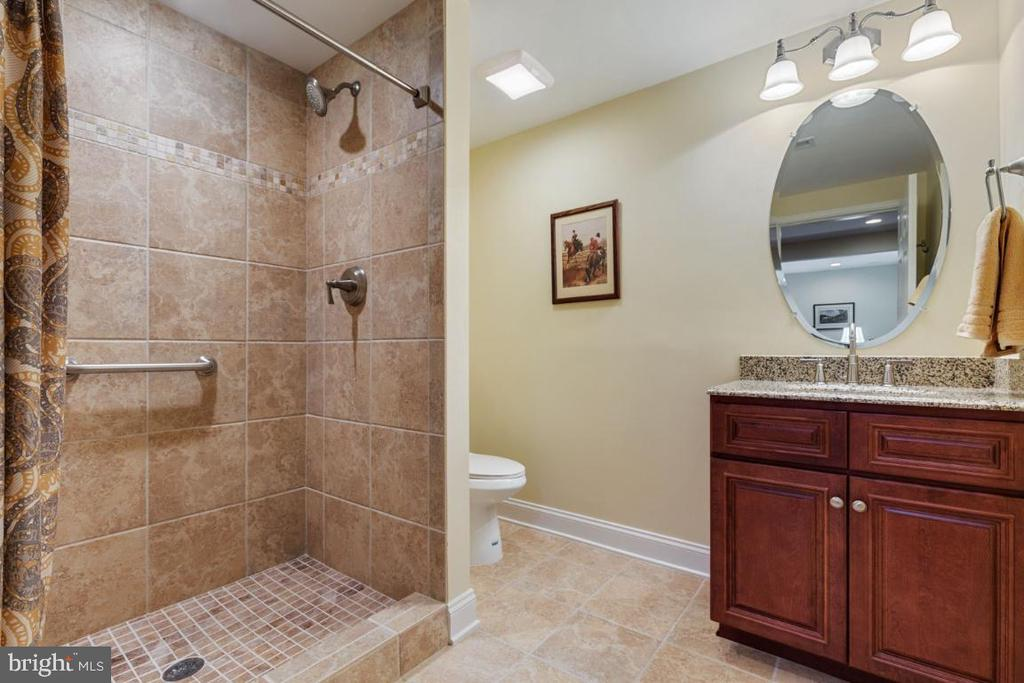 Wonderful Full Bathroom on the Lower Level - 19912 MIZNER TER, ASHBURN